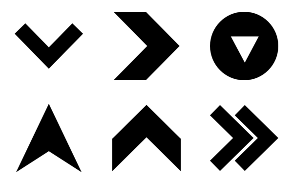 Arrow Icon Compilation