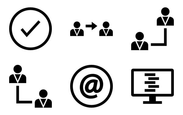 Data Comunication Icon Collection