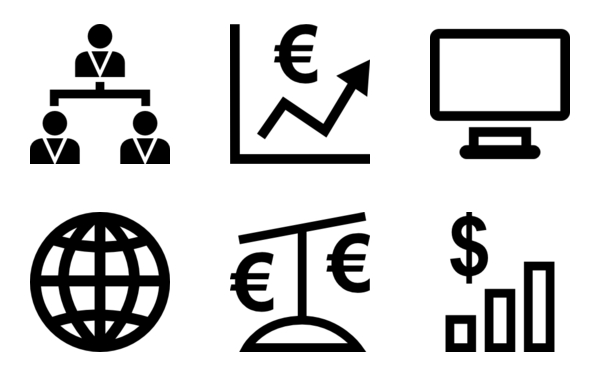 Business Icon Glyph