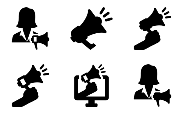 Advertising Icon Collection