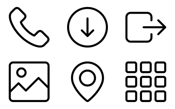 Interface Icon Assets