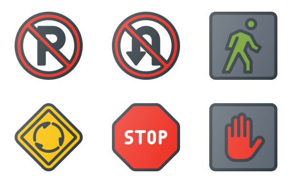 traffic & road signs