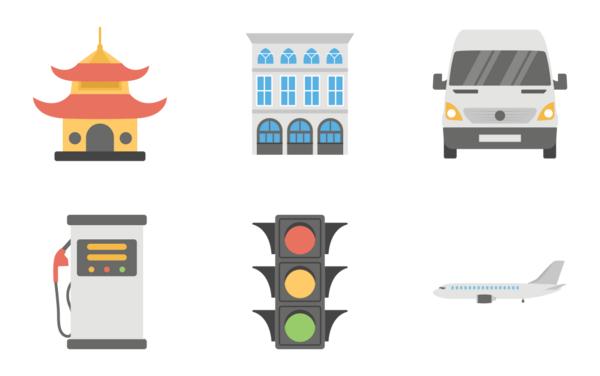 city map elements