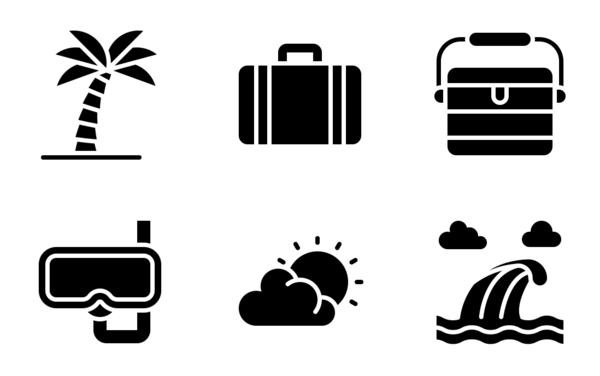 hawaii and summer beach