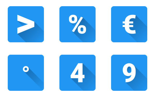 Numbers And Special Characters