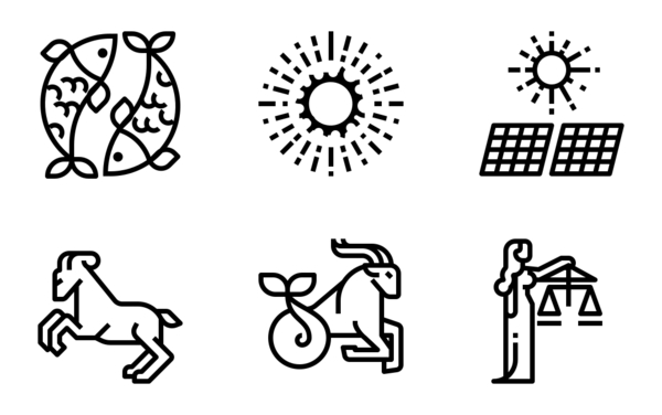 space and zodiac