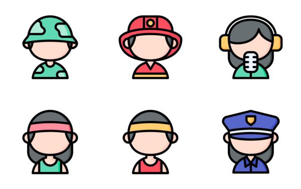 Profession avatars