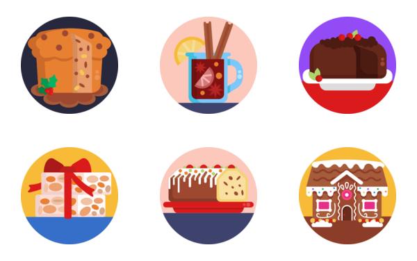 christmas food and drinks