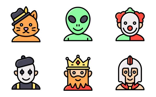 halloween party avatar